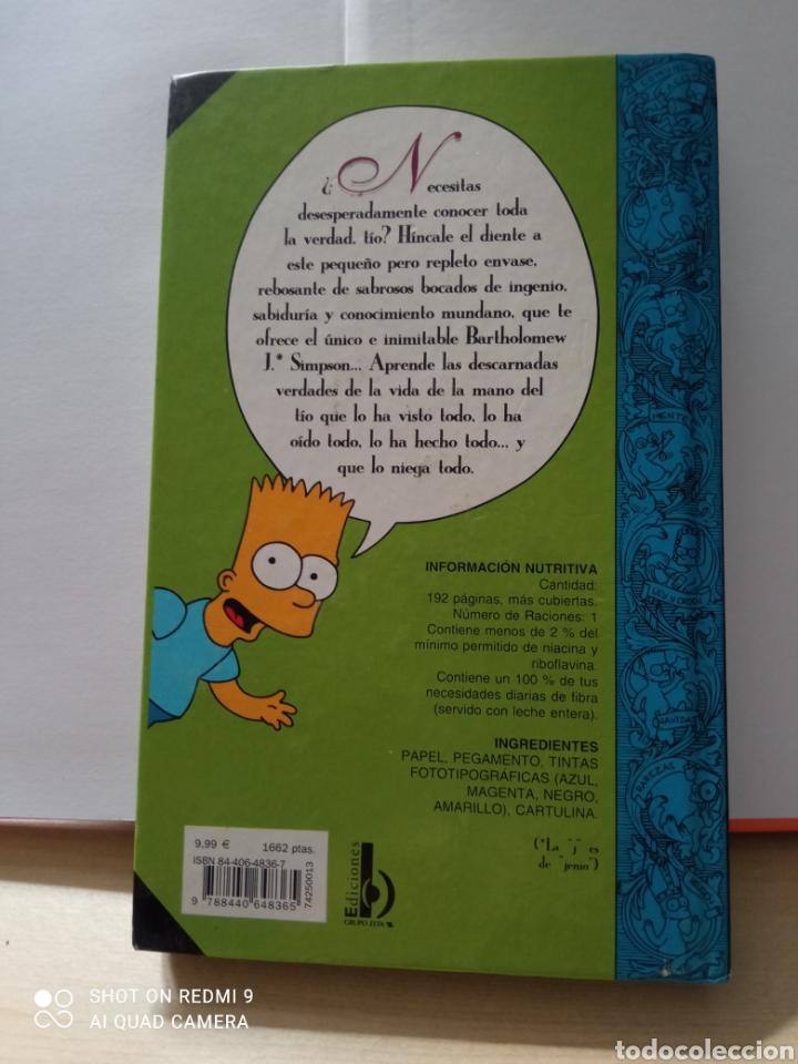 Libros: Guía para la vida bart simpson magnífico libro - Foto 2 - 262040050