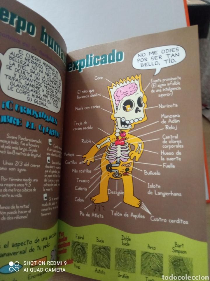 Libros: Guía para la vida bart simpson magnífico libro - Foto 4 - 262040050
