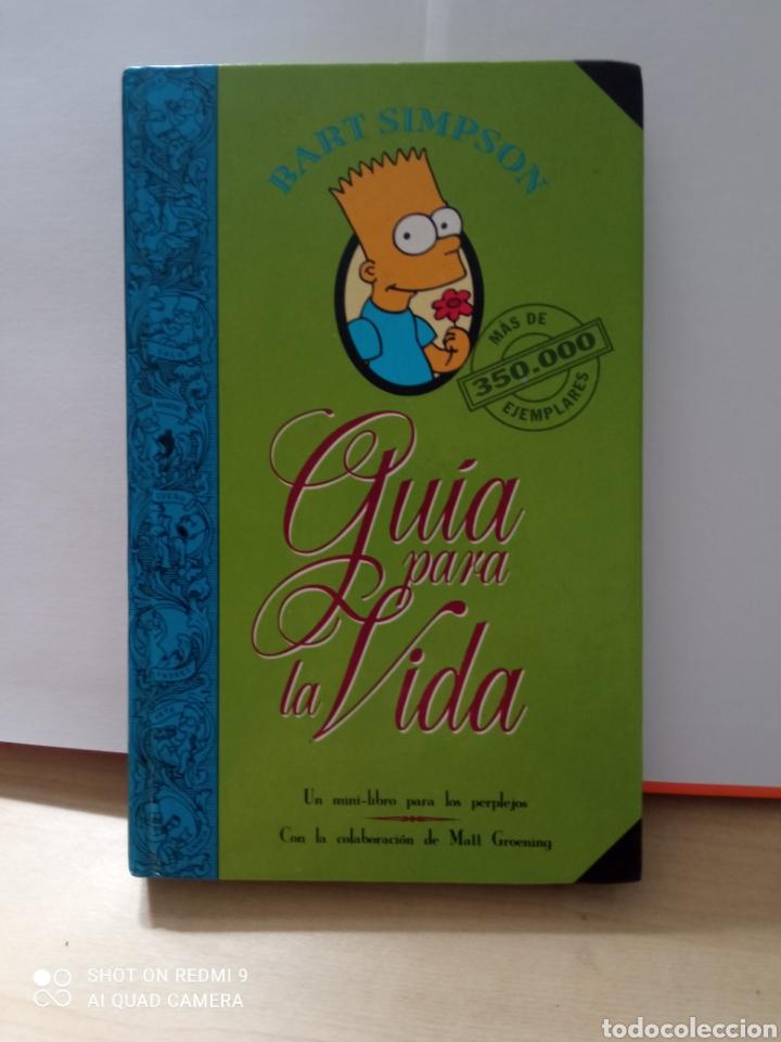 GUÍA PARA LA VIDA BART SIMPSON MAGNÍFICO LIBRO (Libros Nuevos - Educación - Pedagogía)