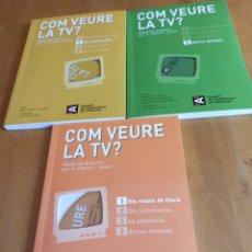 Libros: COM VEURE LA TELEVISIÓ?. Lote 264021785
