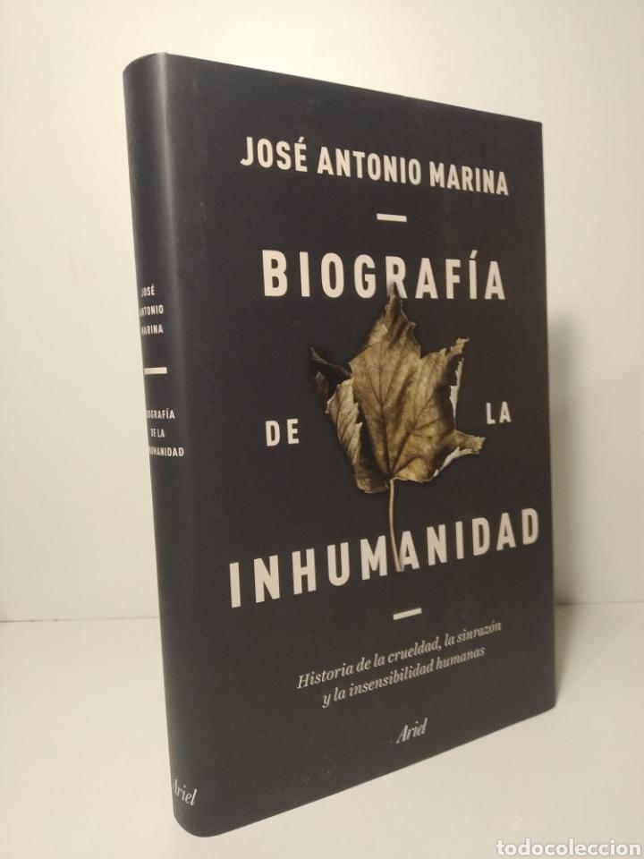 BIOGRAFÍA DE LA INHUMANIDAD HISTORIA DE LA CRUELDAD, LA SINRAZÓN Y LA INSENSIBILIDAD. MARINA. (Libros Nuevos - Educación - Pedagogía)