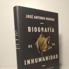 Livros: BIOGRAFÍA DE LA INHUMANIDAD HISTORIA DE LA CRUELDAD, LA SINRAZÓN Y LA INSENSIBILIDAD. MARINA.. Lote 264566549