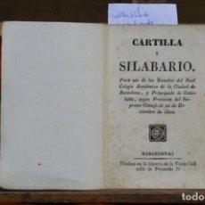 Libri: CARTILLA Y SILABARIO....SEGUN PROVISION DEL SUPREMO CONSEJO DE 22 DE DICIEMBRE DE 1800.. Lote 267064309