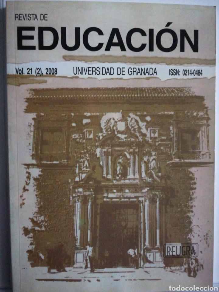 REVISTA DE EDUCACIÓN. VOL.21 (2).UNIVERSIDAD DE GRANADA (Libros Nuevos - Educación - Pedagogía)