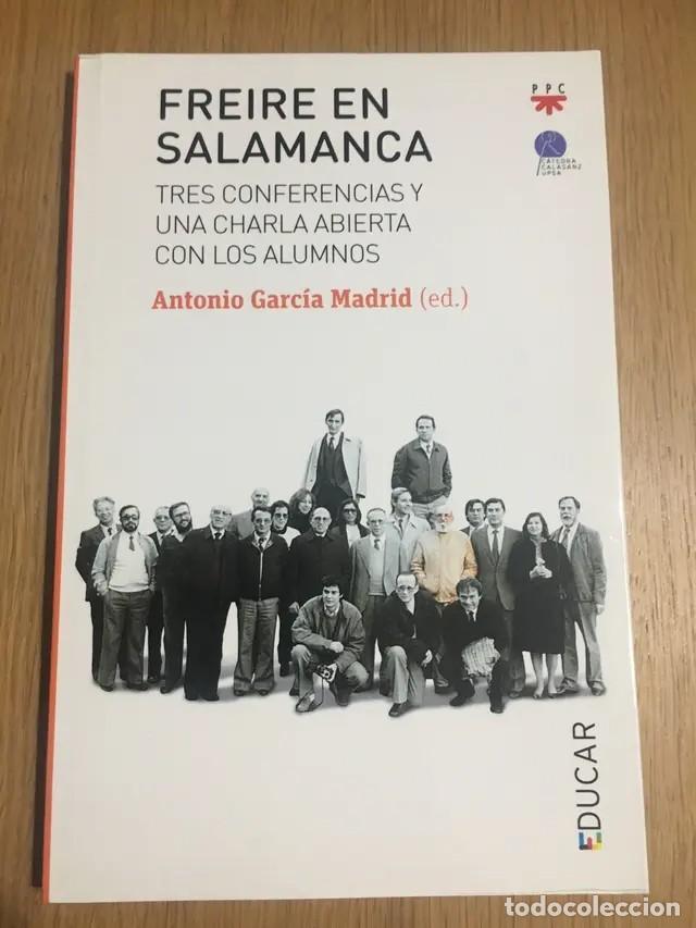 FREIRE EN SALAMANCA (Libros Nuevos - Educación - Pedagogía)