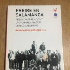 Libros: FREIRE EN SALAMANCA. Lote 278534428