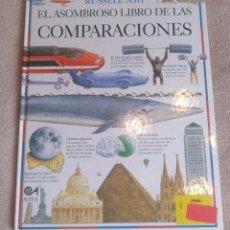 Libros: EL ASOMBROSO LIBRO DE LAS COMPARACIONES. Lote 291248943