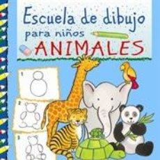 Libros: ESCUELA DE DIBUJO PARA NIÑOS. ANIMALES - CORINA BEURENMEISTER. Lote 45091958