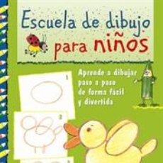 Libros: ESCUELA DE DIBUJO PARA NIÑOS - HANNE TÜRK/ROSANNA PRADELLA. Lote 45092209
