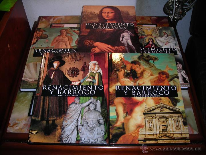 RENACIMIENTO Y BARROCO (5 TOMOS). CLUB INTERNACIONAL DEL LIBRO.(SIN ESTRENAR). (Libros Nuevos - Bellas Artes, ocio y coleccionismo - Pintura)