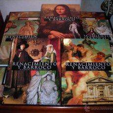 Libros: RENACIMIENTO Y BARROCO (5 TOMOS). CLUB INTERNACIONAL DEL LIBRO.(SIN ESTRENAR).. Lote 165395041