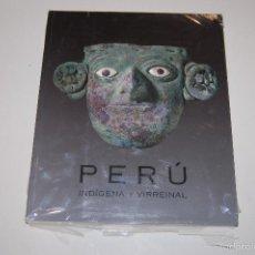 LIBRO CATALOGO PERU INDIGENA Y VIRREINAL. NUEVO SIN DESPRECINTAR