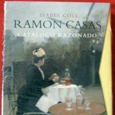 Libros: LIBRO RAMÓN CASAS. CATÁLOGO RAZONADO. ISABEL COLL. DE LA CIERVA EDICIONES. BUENA OPORTUNIDAD. Lote 135954227