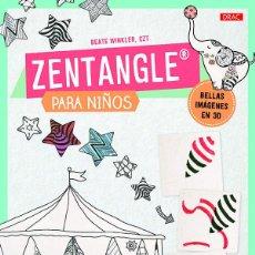 Libros: DIBUJO. ZENTANGLE PARA NIÑOS - BEATE WINKLER. Lote 69022341