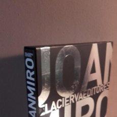 Libros: JOAN MIRÓ .- EDICION LIMITADA 135 UDS NUMERADA EDICIÓN LUJO TITANIUM MUY SELECTO CUBIERTA LENTICULAR. Lote 77391569
