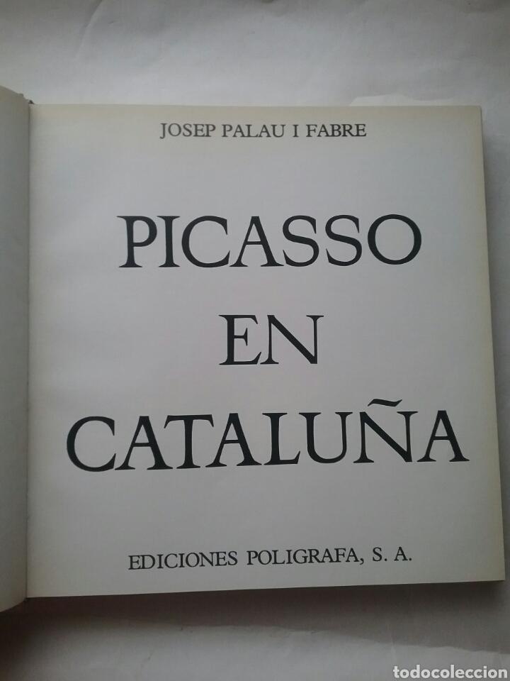 Libros: Libro de Picasso en Cataluña ediciones Polígrafa. - Foto 3 - 78338711