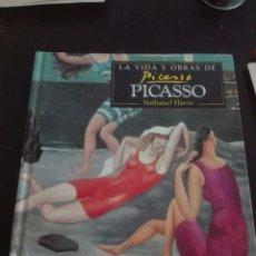 Libros: LIBRO LA VIDA Y OBRA DE PICASSO. Lote 94359275