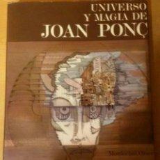 Libros: UNIVERSO DE LA MAGIA DE JOAN PONC. Lote 94854347