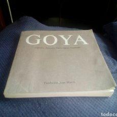 Libros: LIBRO GOYA CAPRICHOS-DESASTRES-TAUROMAQUIA-DISPARES. Lote 95468448