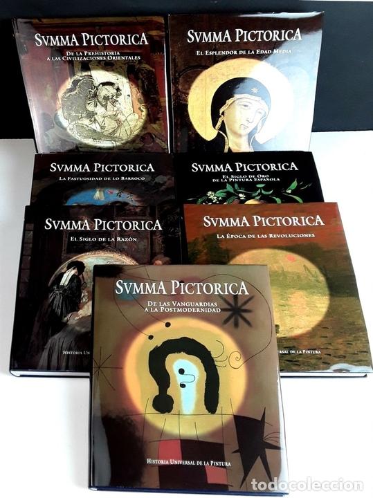 Libros: SUMMA PICTORICA. 7 TOMOS. VARIOS AUTORES. EDIT. PLANETA. 1999/2001. - Foto 2 - 100294579