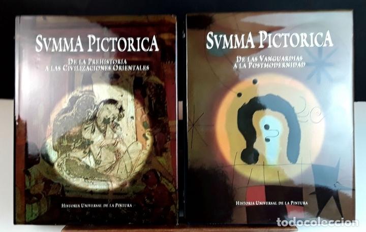 Libros: SUMMA PICTORICA. 7 TOMOS. VARIOS AUTORES. EDIT. PLANETA. 1999/2001. - Foto 3 - 100294579