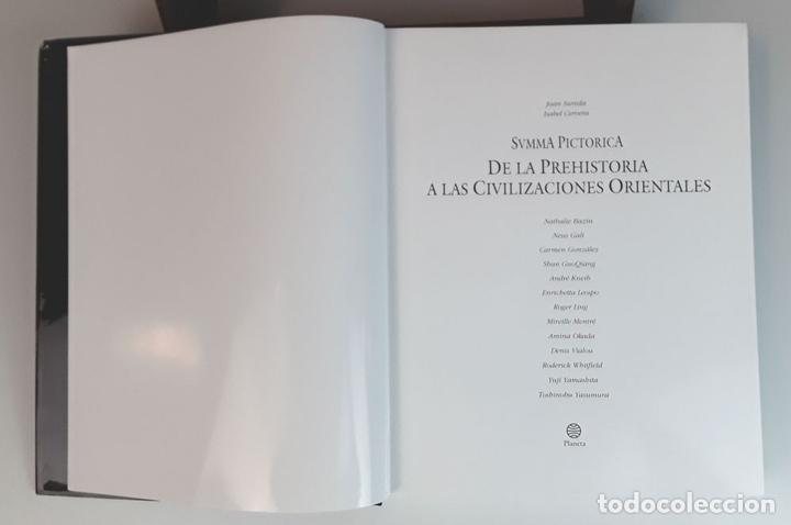 Libros: SUMMA PICTORICA. 7 TOMOS. VARIOS AUTORES. EDIT. PLANETA. 1999/2001. - Foto 5 - 100294579