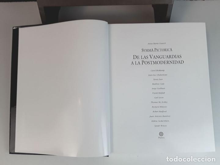 Libros: SUMMA PICTORICA. 7 TOMOS. VARIOS AUTORES. EDIT. PLANETA. 1999/2001. - Foto 8 - 100294579