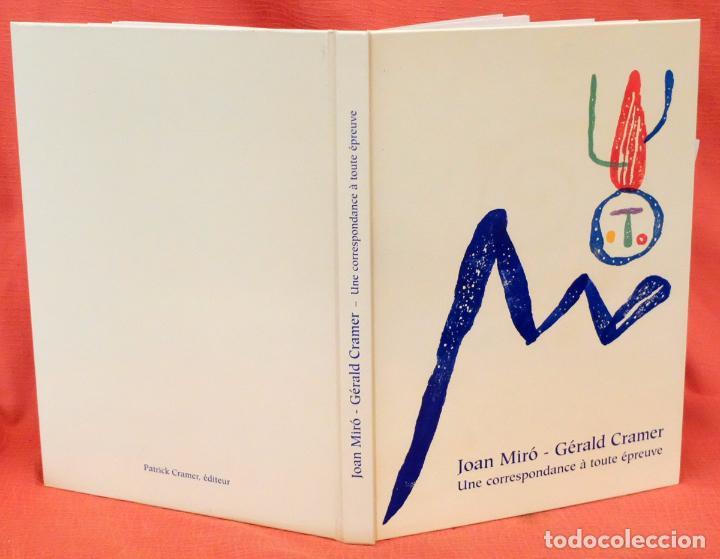 Libros: Joan Miró - Gérald Cramer. Une correspondance à toute épreuve. 2002 - Foto 2 - 102141383