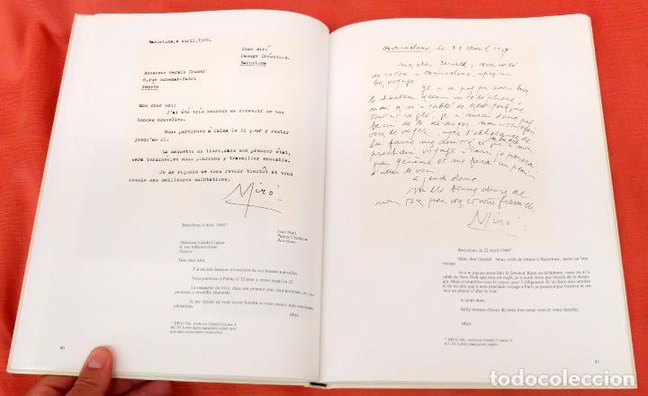 Libros: Joan Miró - Gérald Cramer. Une correspondance à toute épreuve. 2002 - Foto 10 - 102141383