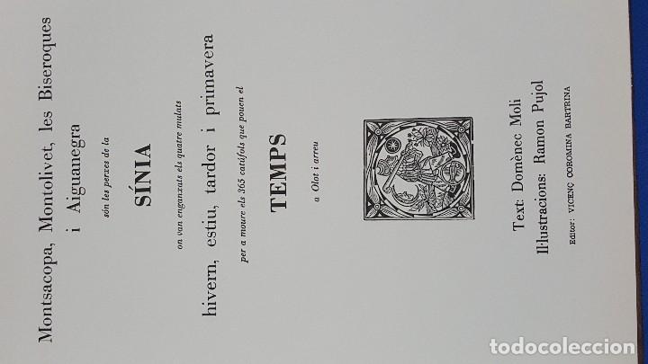 Libros: La sinia del temps a olot.domenec moli.ramon pujol. - Foto 2 - 103213007