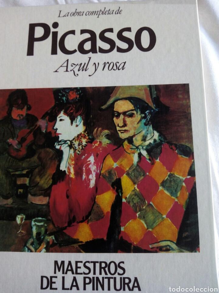 * PICASO. LA OBRA COMPLETA DE PICASO AZUL Y ROSA (Libros Nuevos - Bellas Artes, ocio y coleccionismo - Pintura)