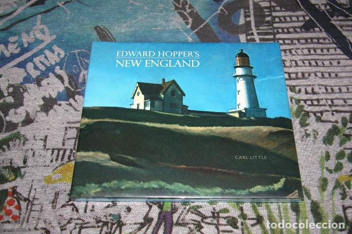 Libros: Hopper - Edward Hoppers - New England - Carl Little - Nuevo y Precintado - Foto 1 - 107190455