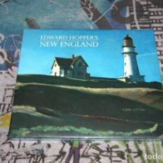Libros: HOPPER - EDWARD HOPPER'S - NEW ENGLAND - CARL LITTLE - NUEVO Y PRECINTADO. Lote 107190455