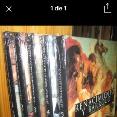 Libros: RENACIMIENTO Y BARROCO 5 TOMOS NUEVOS. Lote 109347914