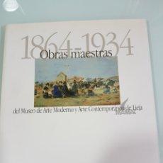 Libros: 1864- 1934 OBRAS MAESTRAS DEL MAMAC DE LIEJA. Lote 111053911