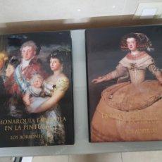 Libros: 2 VOL. LA MONARQUÍA ESPAÑOLA EN LA PINTURA LOS BORBONES Y LOS AUSTRIAS SÓLO 3000U. ED.CARROGGIO. Lote 112544439