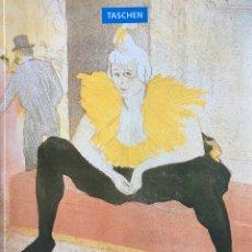 Libros: TOULOUSE LAUTREC POR TASCHEN. Lote 116792864