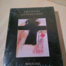 Libros: ARTISTAS ASTURIANOS, PROYECTO ASTUR, PINTORES, TOMO V, SIN ABRIR.. Lote 122027182