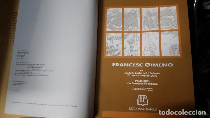 Libros: FRANCESC GIMENO MAESTRAS DE LA PINTURA SIGLO XIX-XX - Foto 3 - 222419253