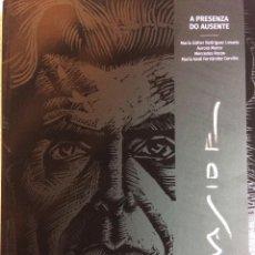 Libros: MASIDE.A PRESENZA DO AUSENTE190 DIBUJOS,CARICATURAS,SILUETAS DE PERSONAJES CONTEMPORÁNEOS DEL PINTOR. Lote 125460127