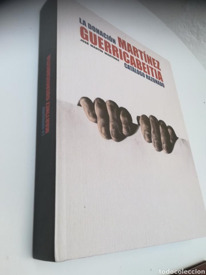 LA DONACIÓN MARTÍNEZ GUERRICABEITIA CATÁLOGO RAZONADO. JOSÉ MARTÍN MARTÍNEZ. (Libros Nuevos - Bellas Artes, ocio y coleccionismo - Pintura)