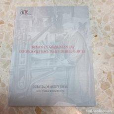 Libros: SUBASTA DE ARTE Y JOYAS N15 - PREMIOS DE GRABADO EN LAS EXPOSICIONES NACIONALES DE BELLAS ARTES . Lote 127931455
