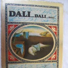 Libros: DALI... DALI.... DALI .... - EDITORIAL BLUME BARCELONA 1985. BELLAS ILUSTRACIONES. . Lote 130350502