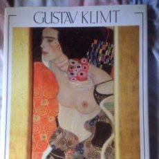 Libros: 2 LIBROS DE ARTE DE GUSTAV KLIMT, ESCRITOS EN INGLÉS, FOTOS DE CASI TODA SU OBRA.. Lote 139066104