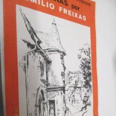 Livres: LAMINAS POR EMILIO FREIXAS LECCIONES DE DIBUJO ARTISTICO SERIE 11 PAISAJES Y JARDINES . Lote 142198334