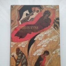 Libros: LIBRO DE RUSSIAN ICONS FROM THE TRETYAKOV GALLERY. FUNDACIÓN LA CAIXA CATALUNYA.. Lote 143377605