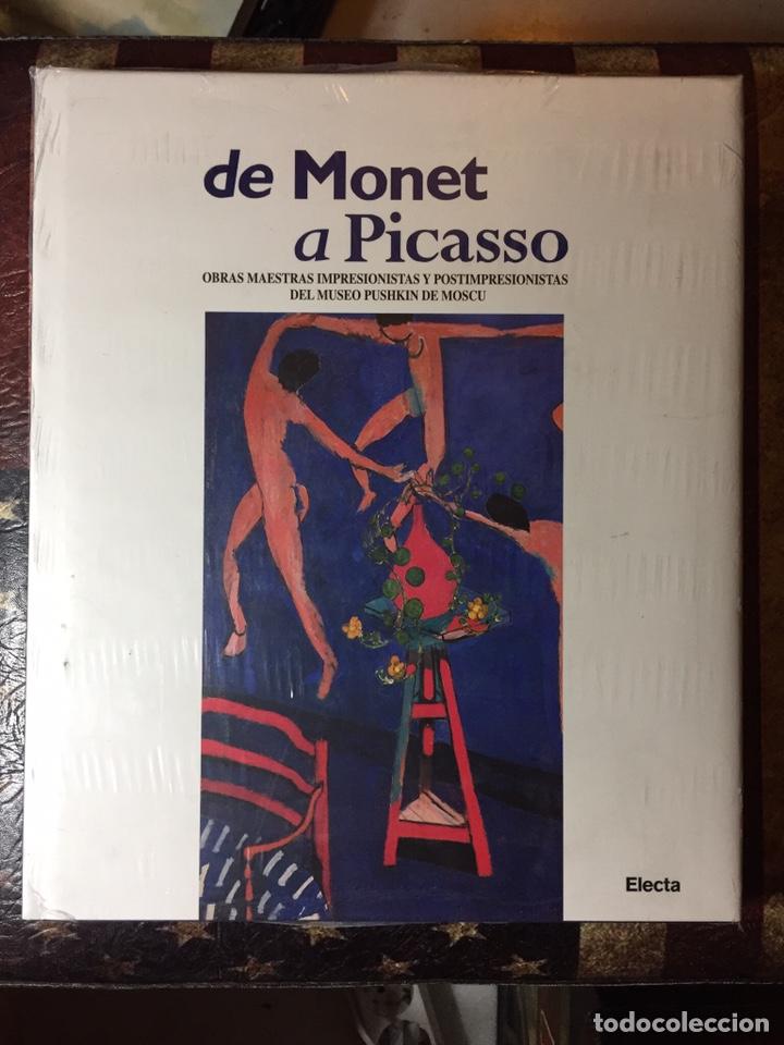 DE MONET A PICASSO (Libros Nuevos - Bellas Artes, ocio y coleccionismo - Pintura)
