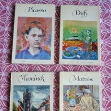 Libros: LOTE DE 8 LIBROS DE ARTE. AÑOS 50. Lote 146520022