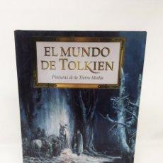 Libros: LIBRO EL MUNDO DE TOLKIEN EL SEÑOR DE LOS ANILLOS. Lote 147421741