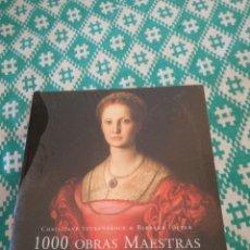 Libros: 1000 OBRAS MAESTRAS PINTURA. Lote 148751217